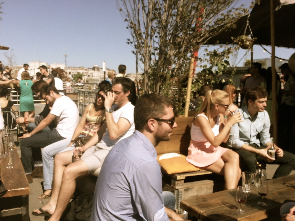 se mettre bien rooftop bar paris