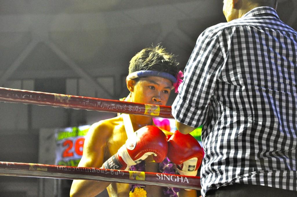 muai thai boxer