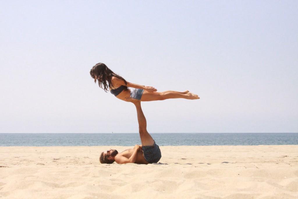 L'acro yoga, forcément photogénique