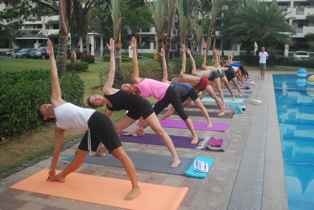 Cours de Hata Yoga offert par un hotel